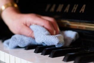 نگهداری کلید های پیانو
