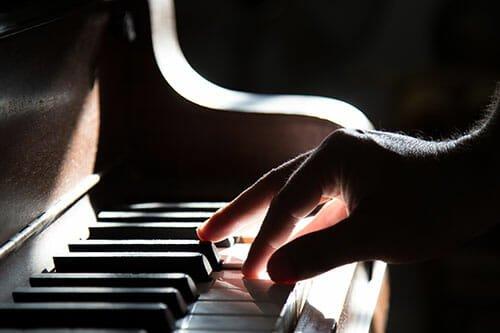 تمیز کردن پیانو